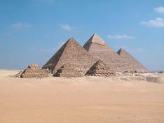 Pirámides. Arquitectura Egipto