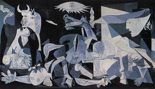 "Arte Moderno. ""Guernica"""