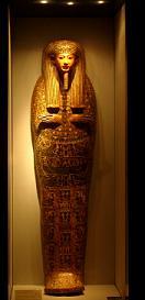 Sarcófagos y momias de Egipto